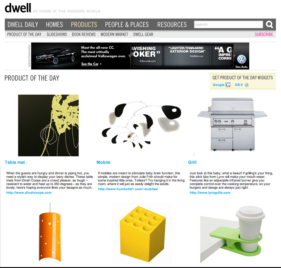 Dwell.com Product of the Day: mobile
